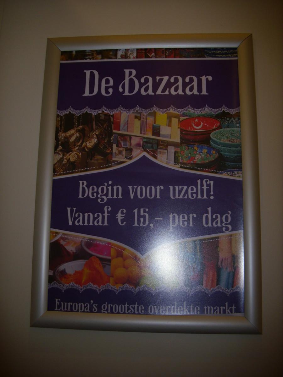 De Bazaar Advertisement