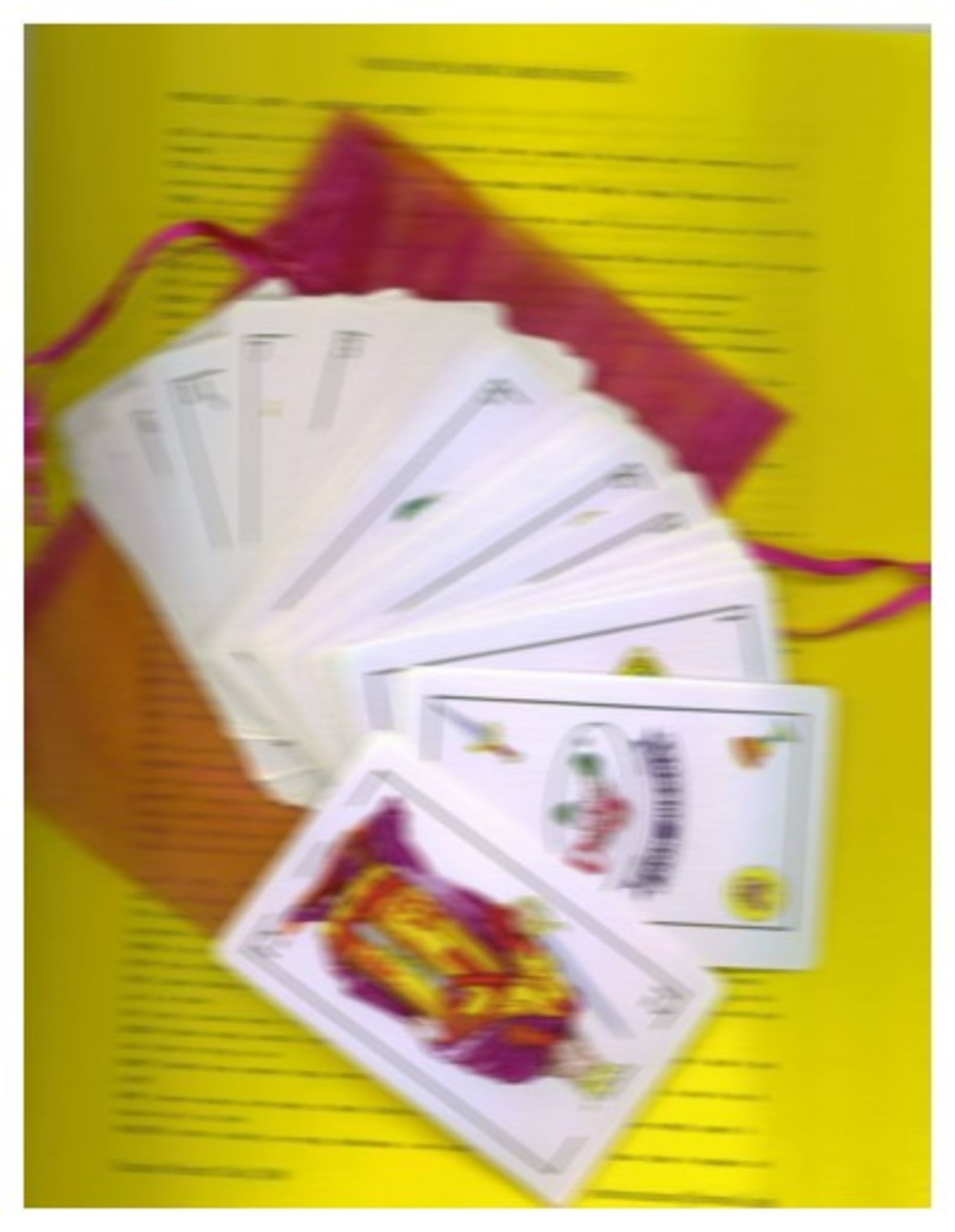 Set of Mexican Playing Cards with instructions and carry bag ~ Feel free to contact me for more details if interested!