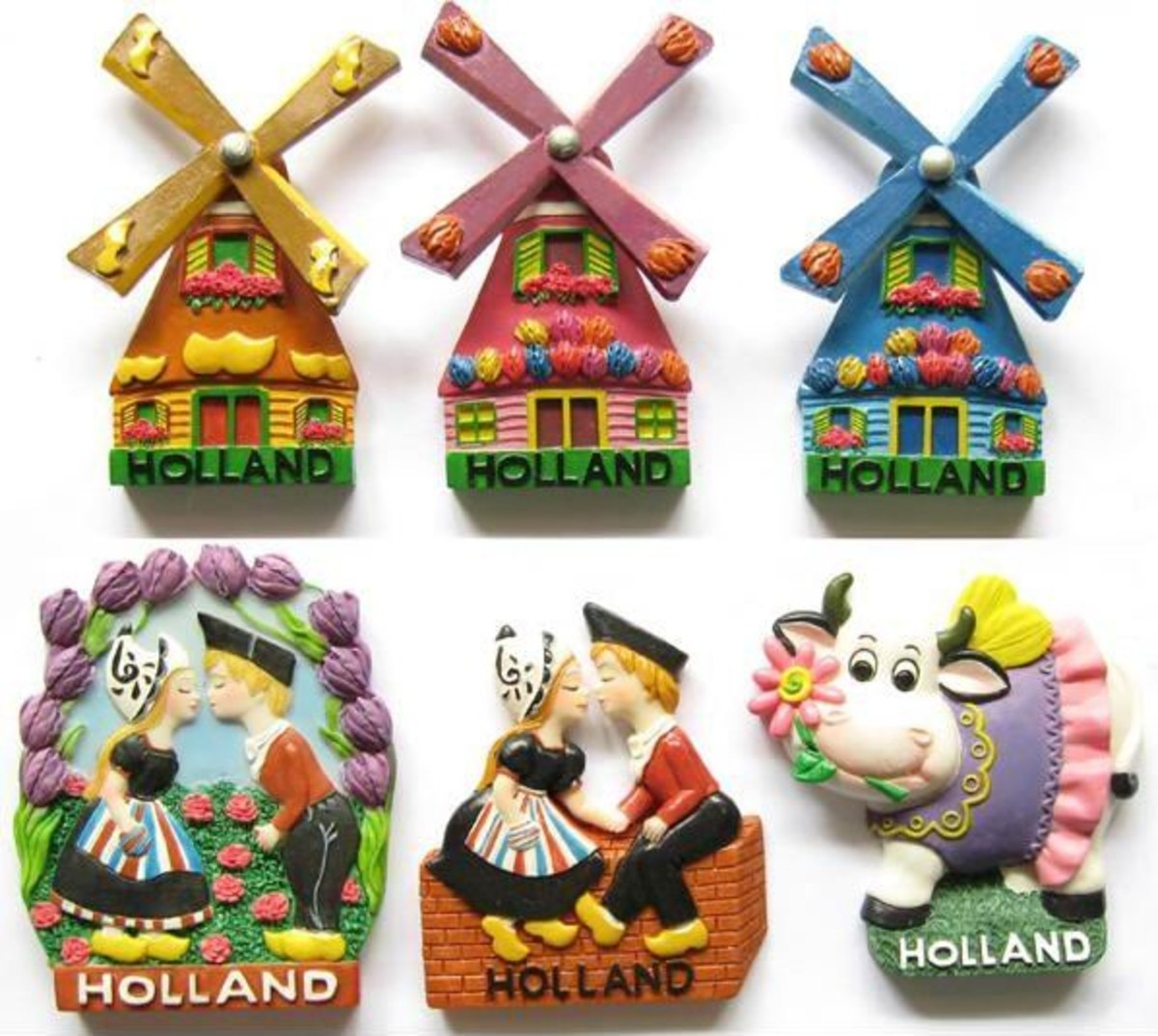 Polyresin magnet Souvenir - nice at and hadicraft small business for moms