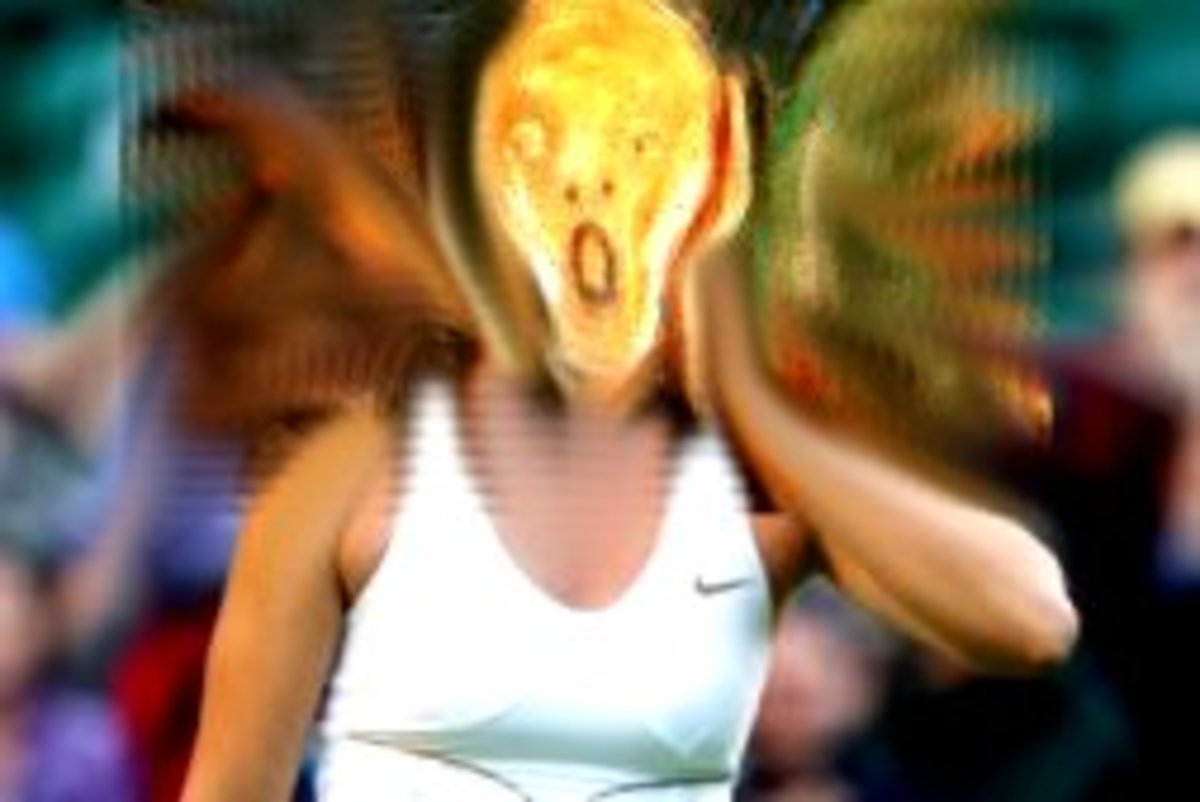 Edward Munch- The Tennis Scream!