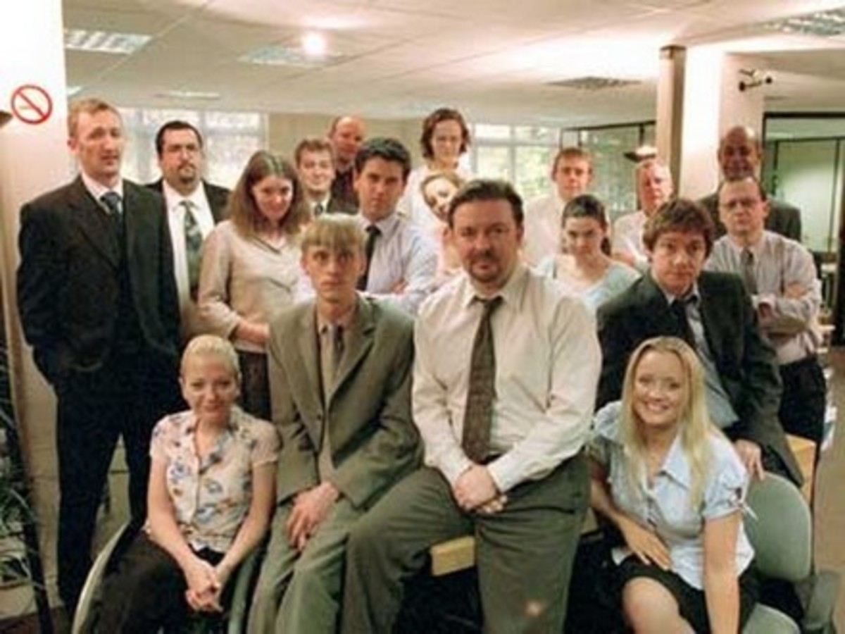 TV Shows: The Office: UK & US Versions