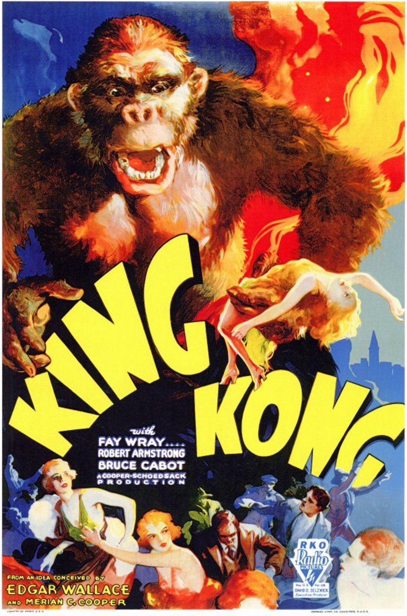 Image result for 1933 motion picture king kong premiered in nyc