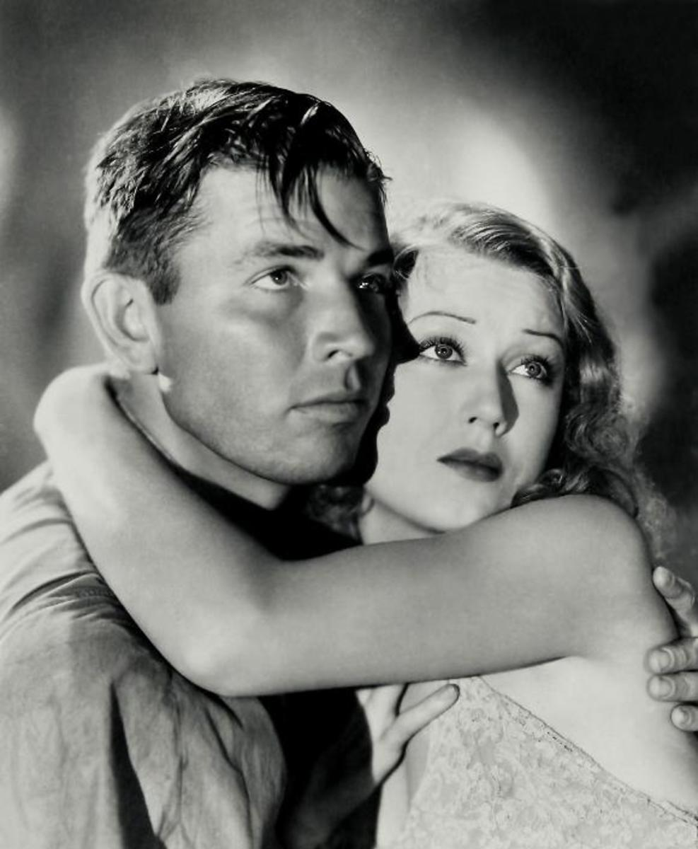 Bruce Cabot with Fay Wray