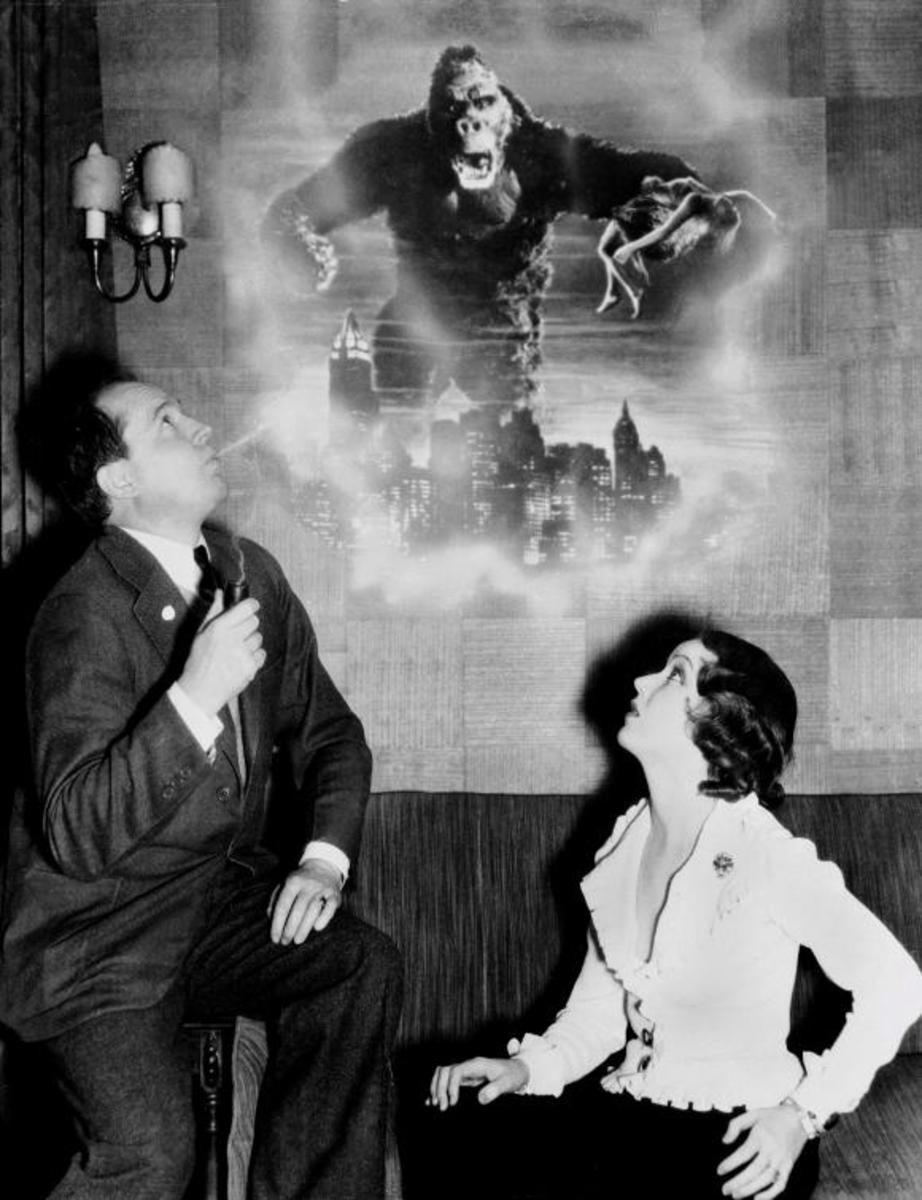 Merian C.Cooper with Fay Wray