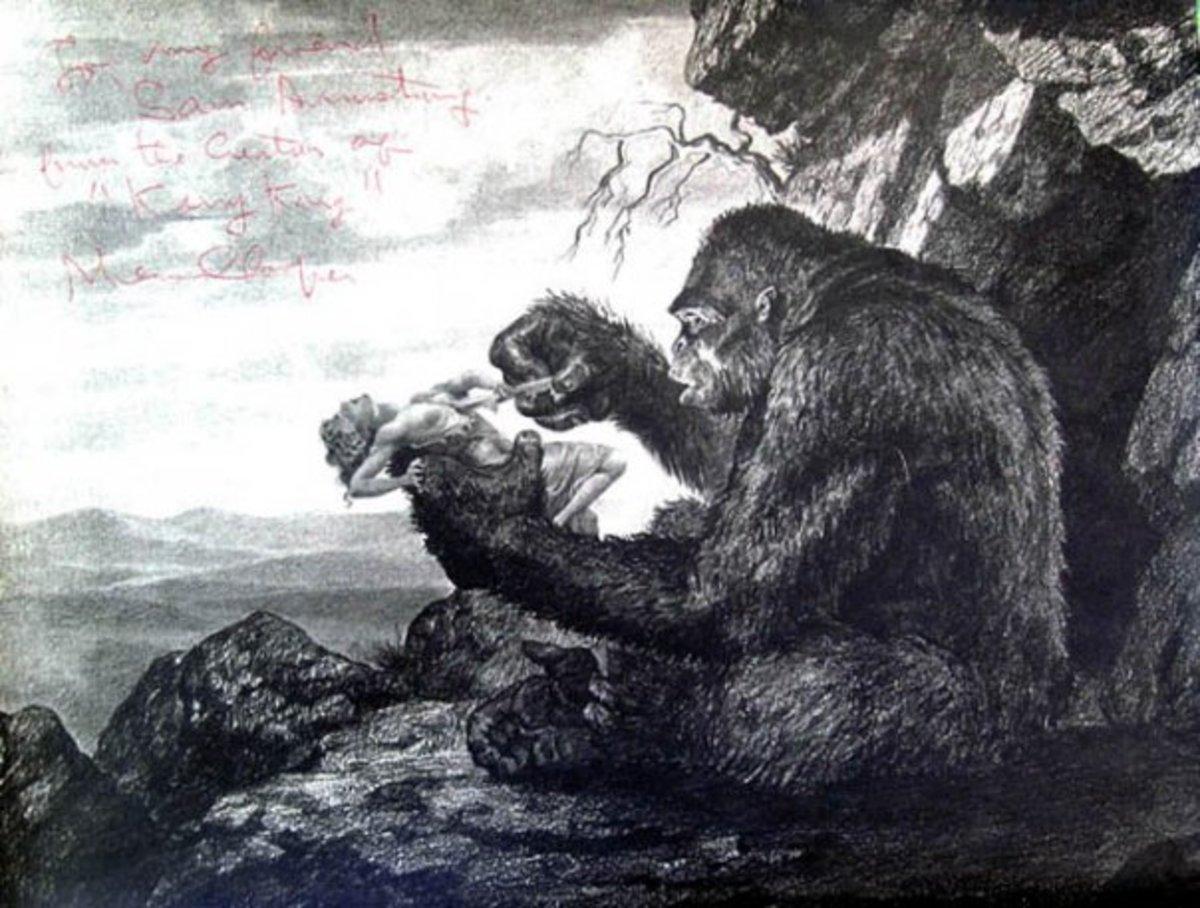 King Kong - concept art