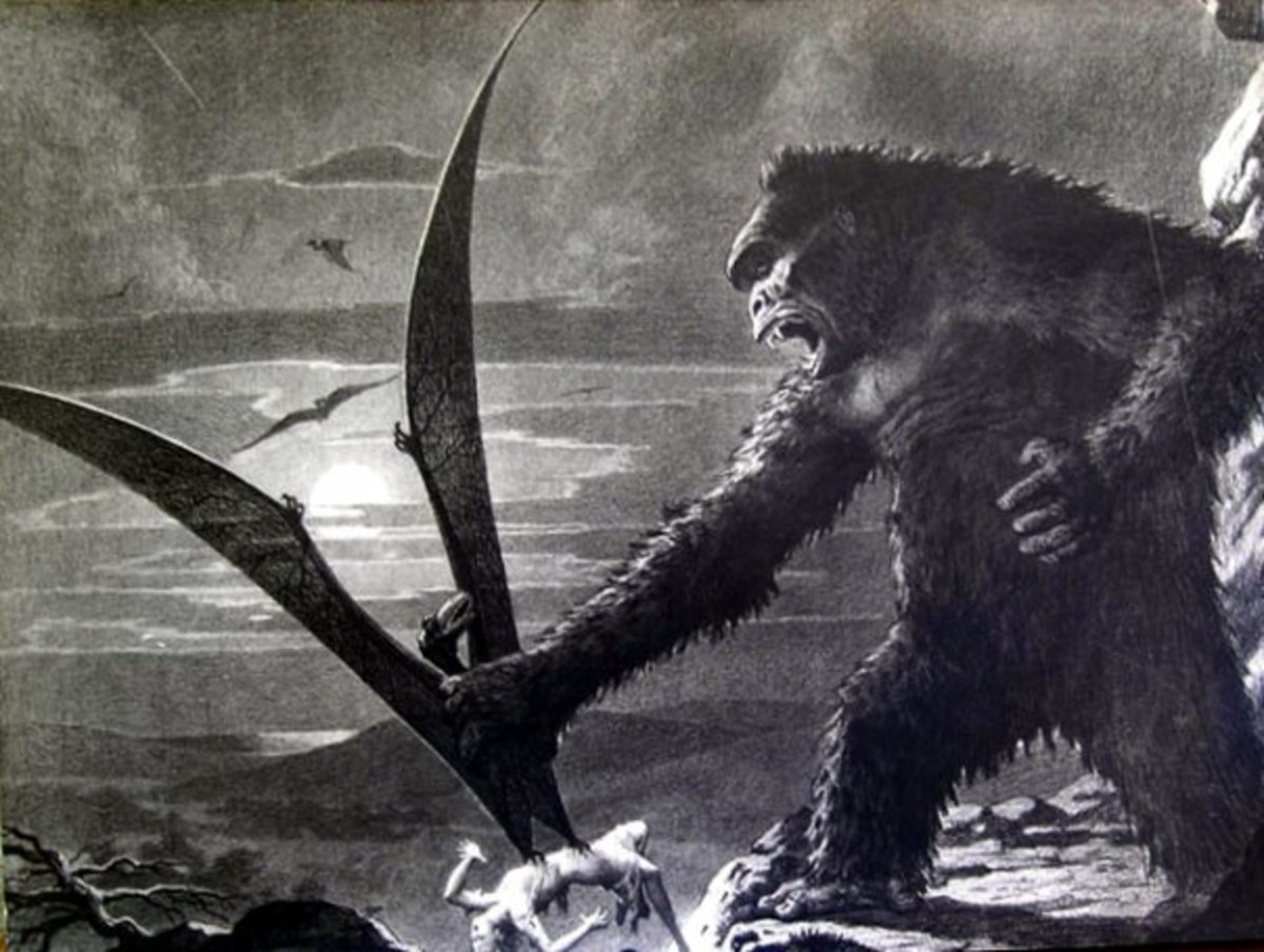 King Kong - concept art