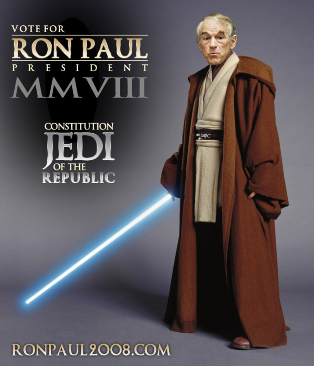 Ron Paul is an advocate of minimal market interference by the government