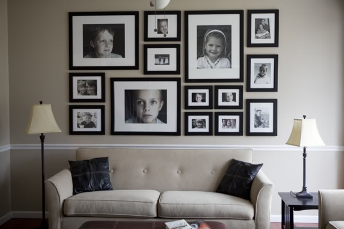 How to Create a Photo Wall