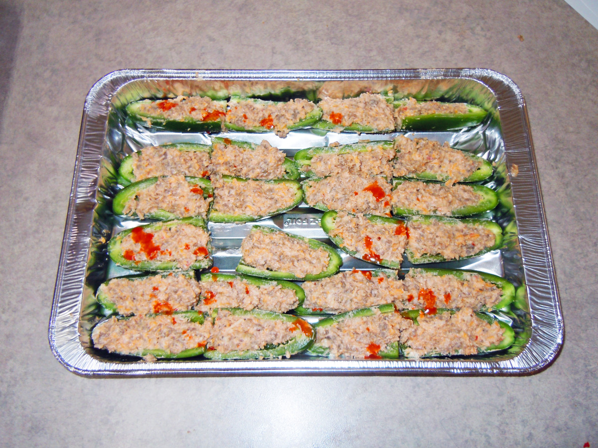 "Jalapeno Poppers ""On the Half Shell""- A Simple and Spicy Recipe that is Easy to Make"