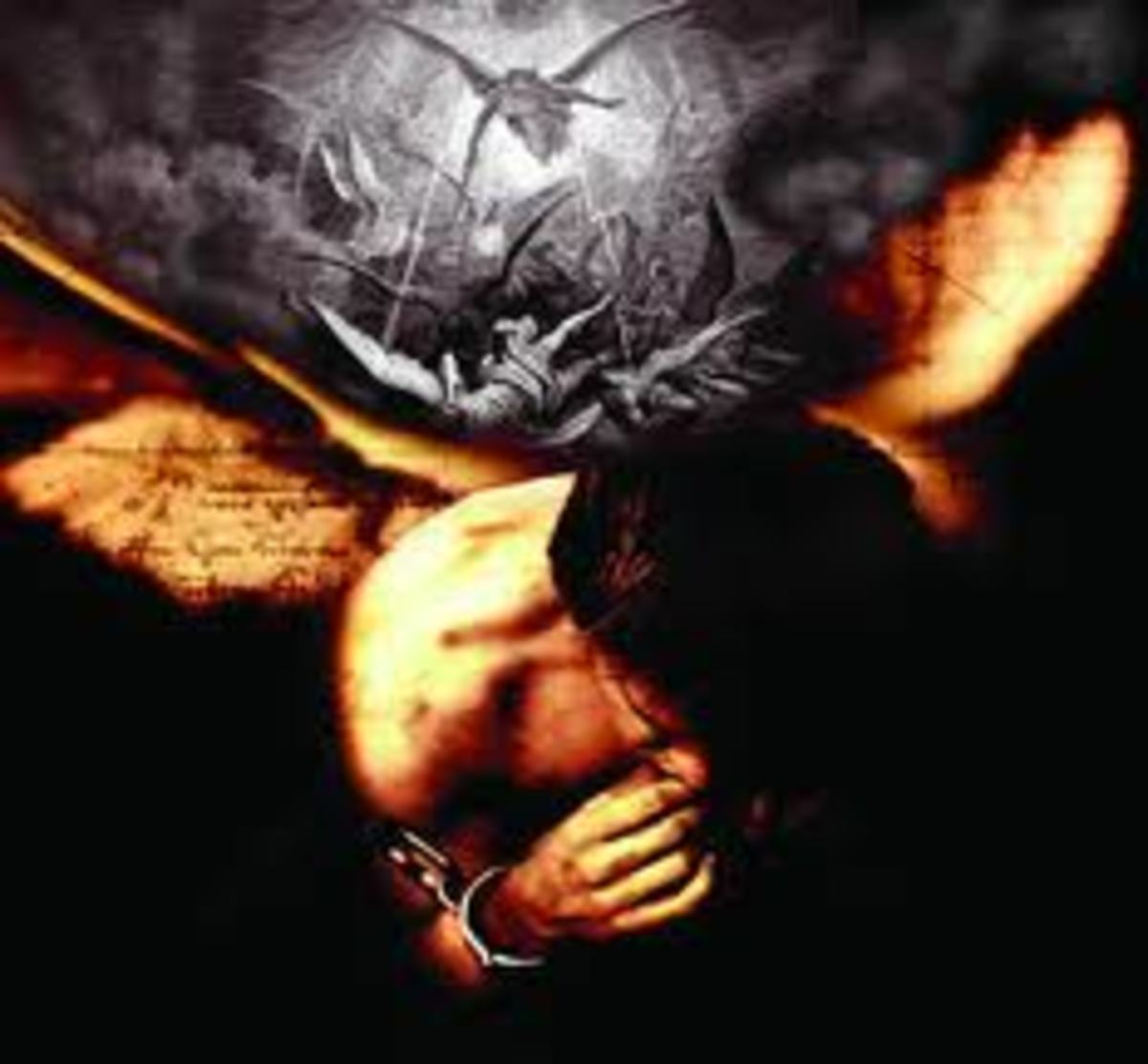 The Nephilim were the children of fallen angels and human women. The women often died giving birth to these evil beings.