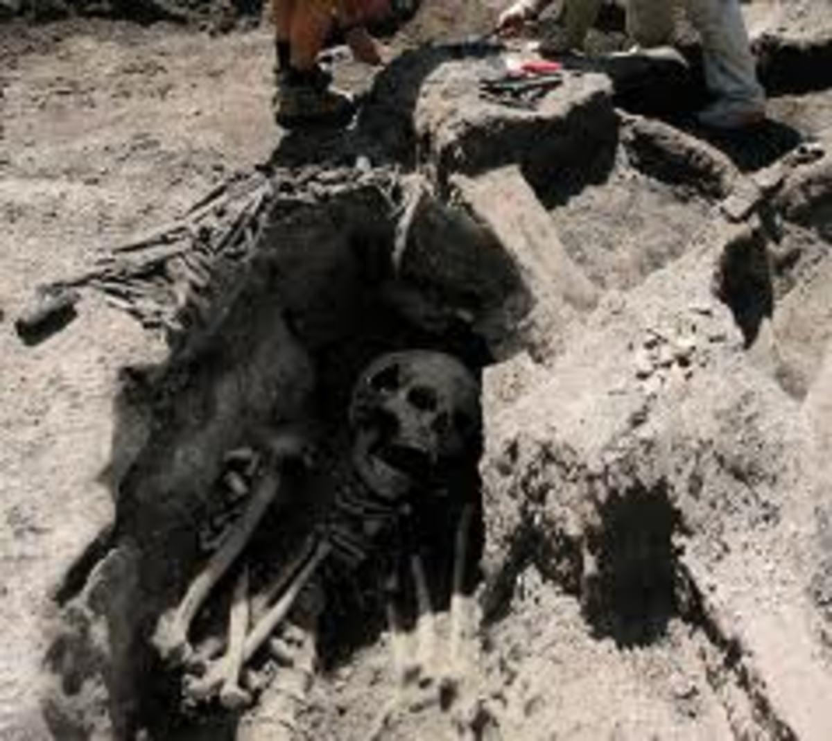 Giants were found all over the earth. Giants were the offspring of fallen angels and human women and are also known as the Nephilim.