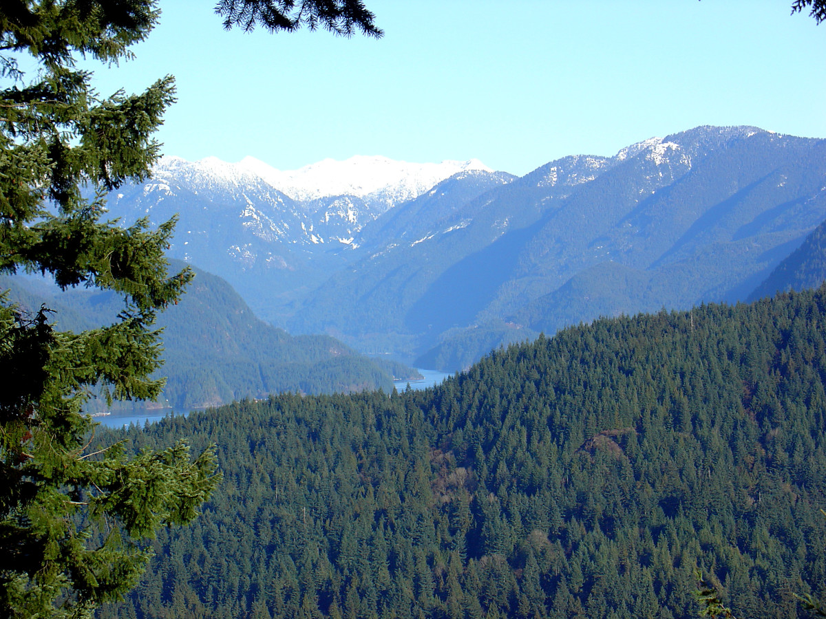 Mountains and Indian Arm