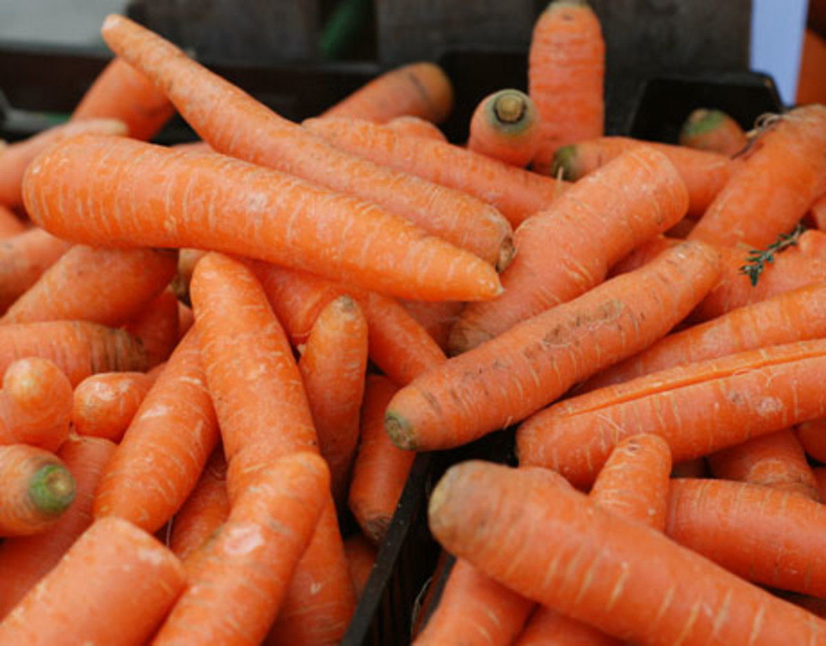 carrots can be used to treat digestive problems, intestinal parasites, and tonsillitis or constipation.