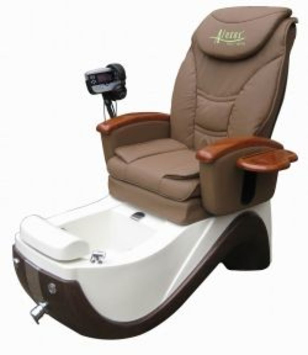 Used pedicure spa equipment and supplies for sale stools chairs stations hubpages - Used salon furniture for sale ...