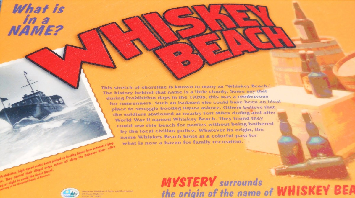 Whiskey Beach has a colorful history. Some say it was a rendezvous for rumrunners during prohibition.