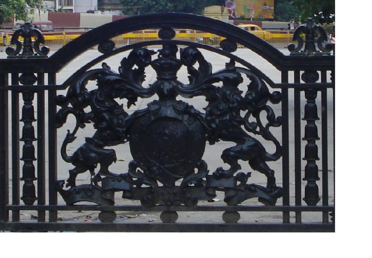 Central part of the gate