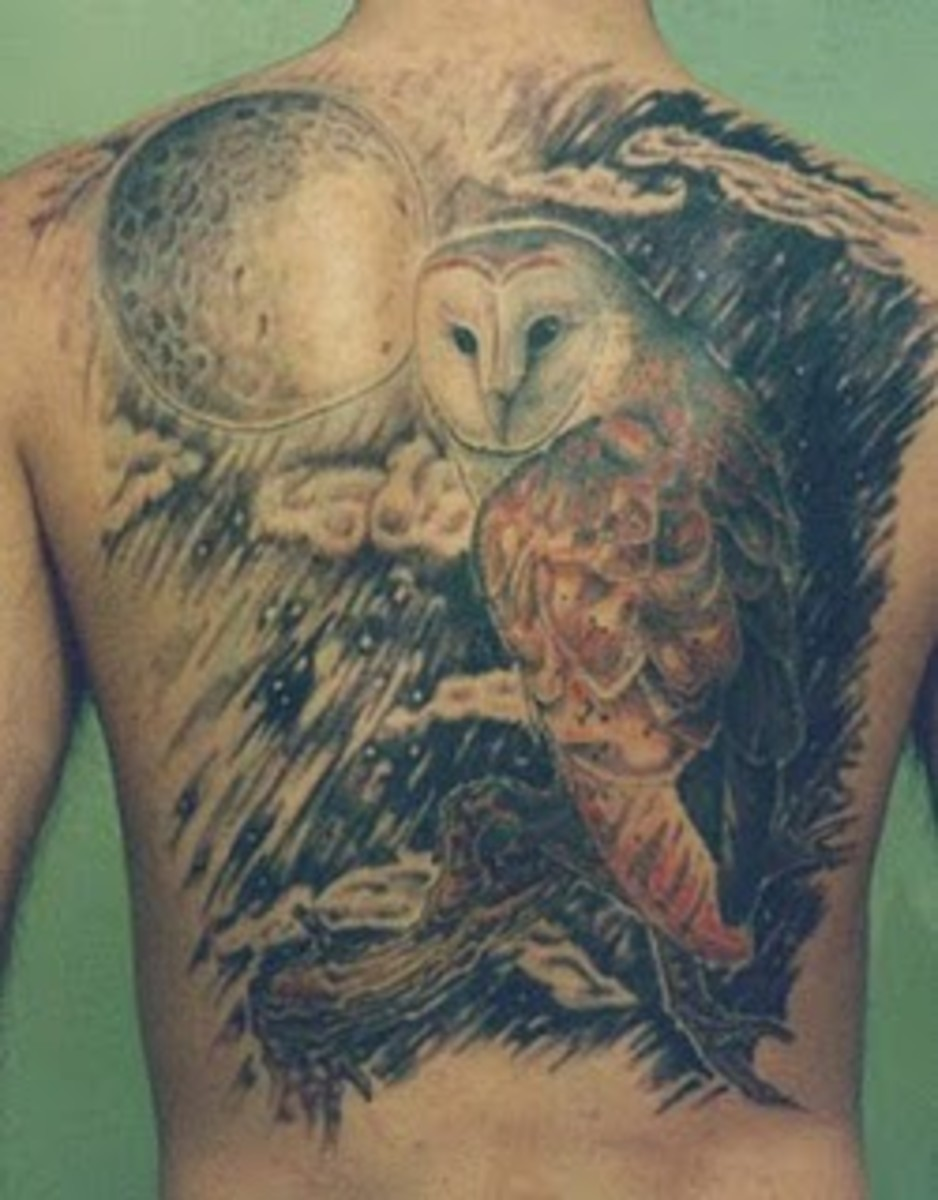 Magnificent Owl Tattoos
