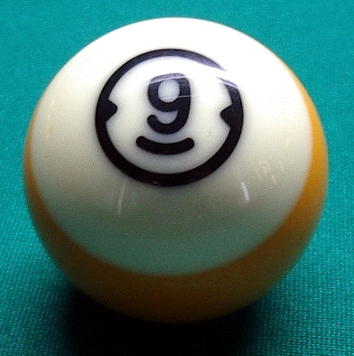 Racking the Balls in Pool (9-Ball) The Lucky Man's Game
