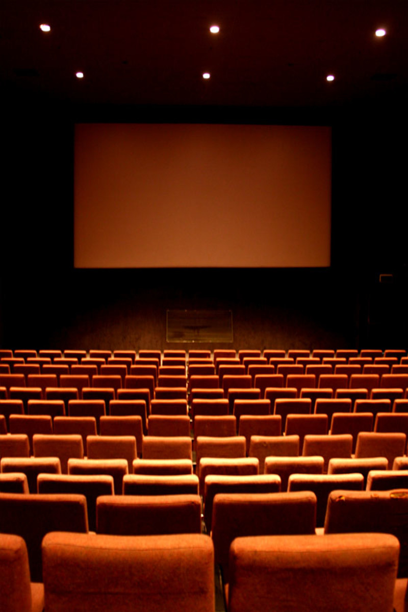 An empty cinema. This would be ideal for some people.
