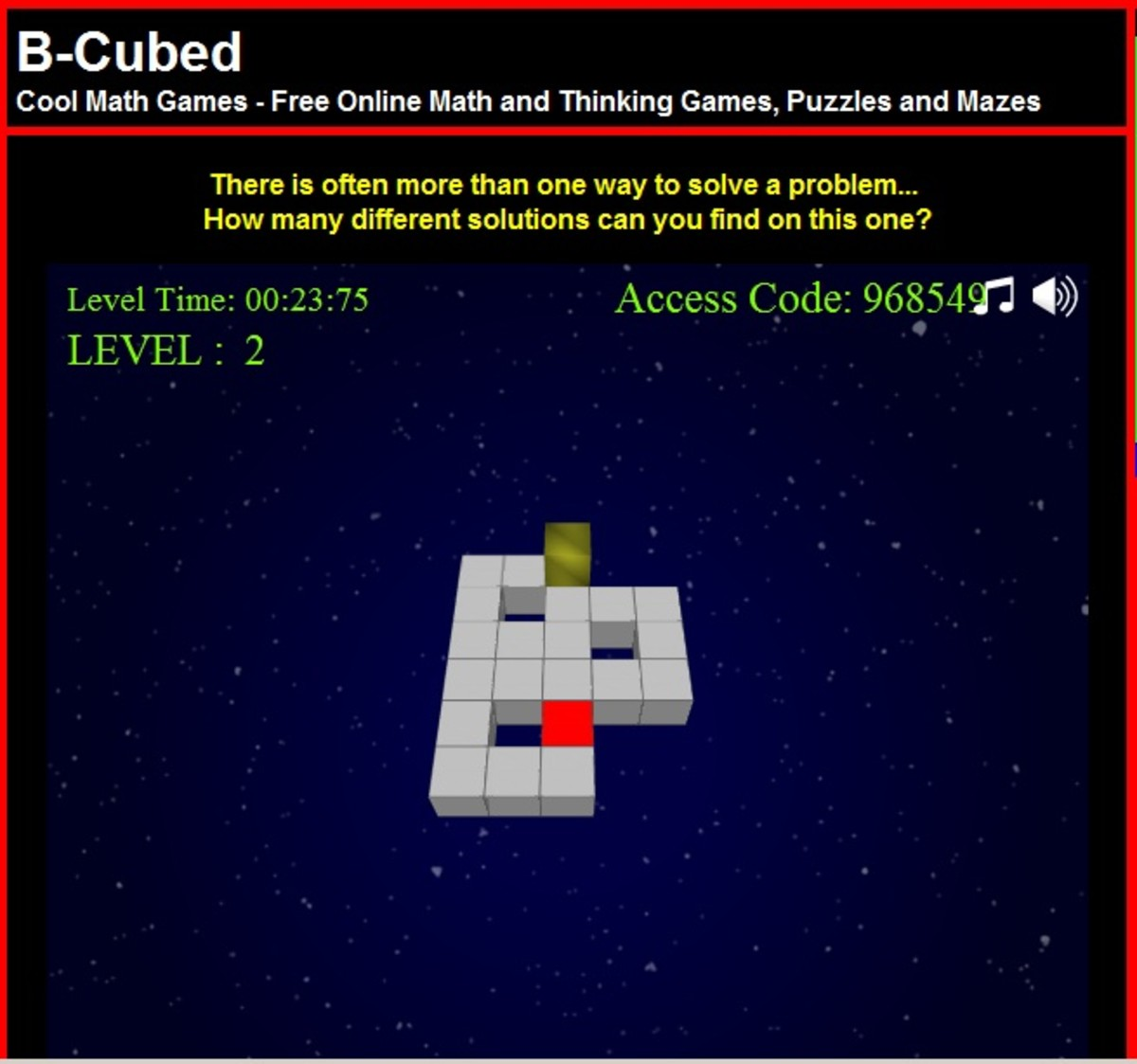 cool math games b-cubed