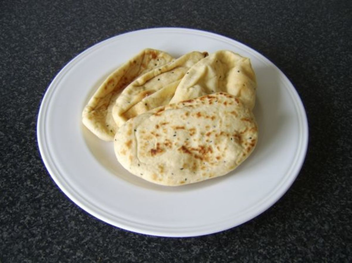 "6"" Mini Naan Breads"