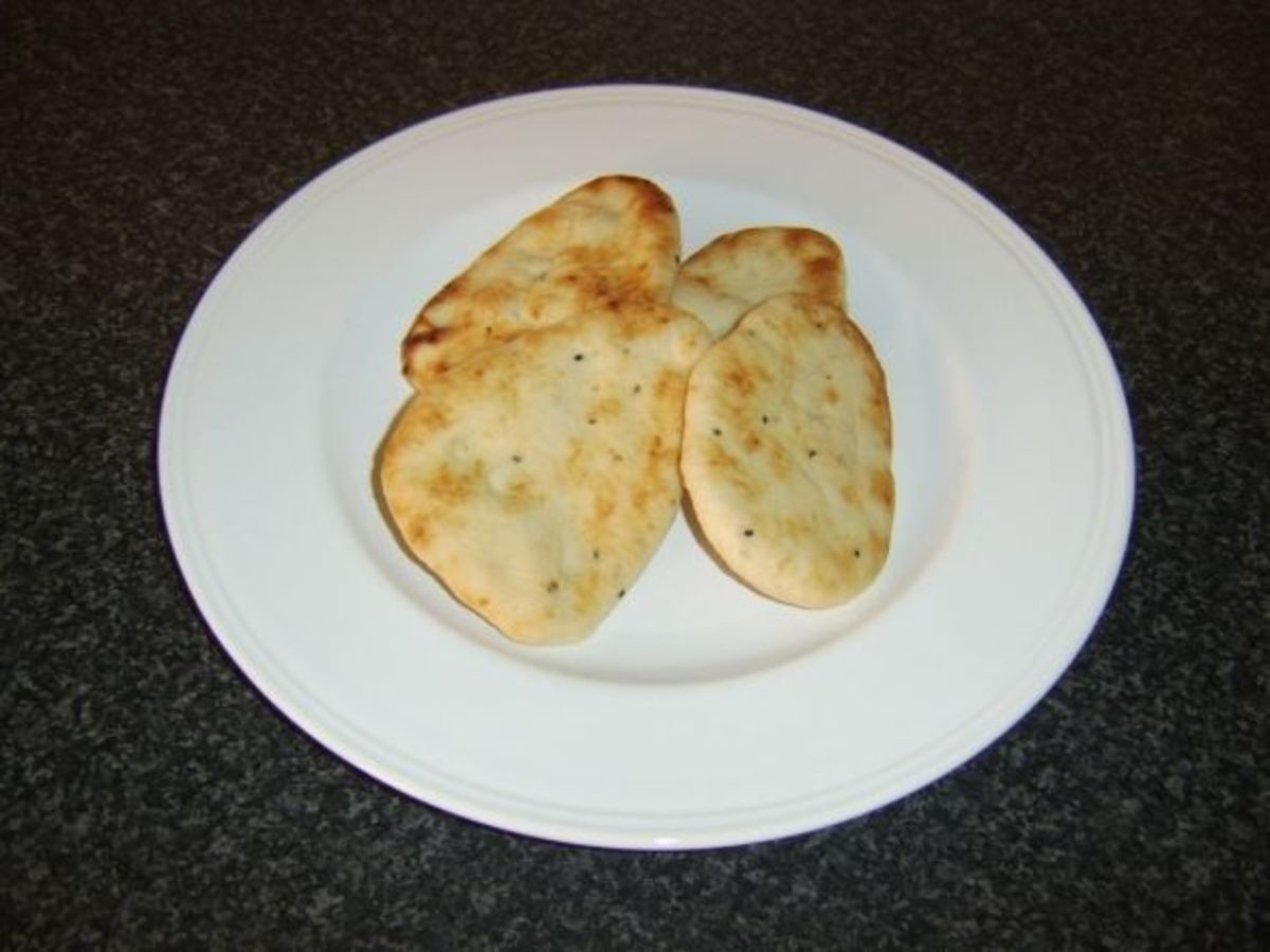 "4"" Mini Naan Breads"