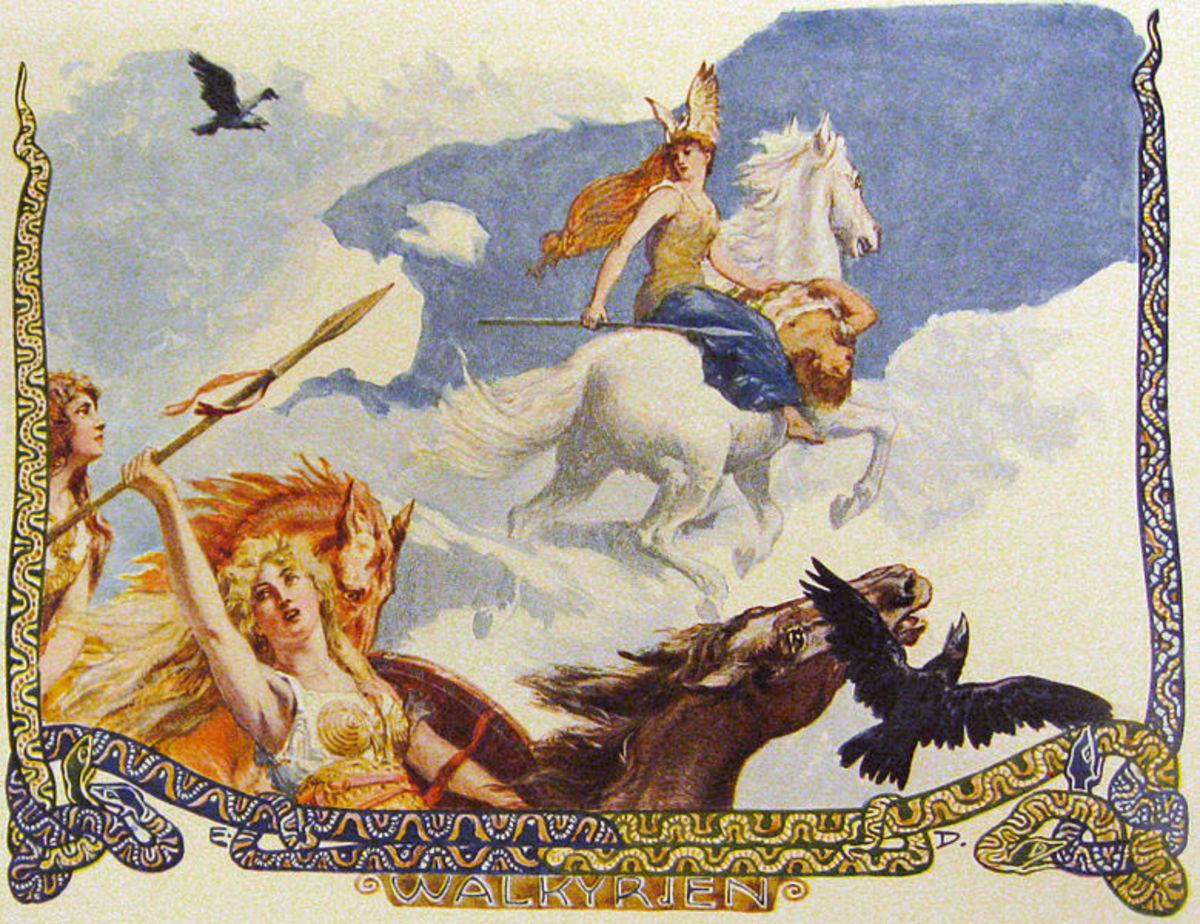 Walkyrien by Emil Doepler, c. 1905