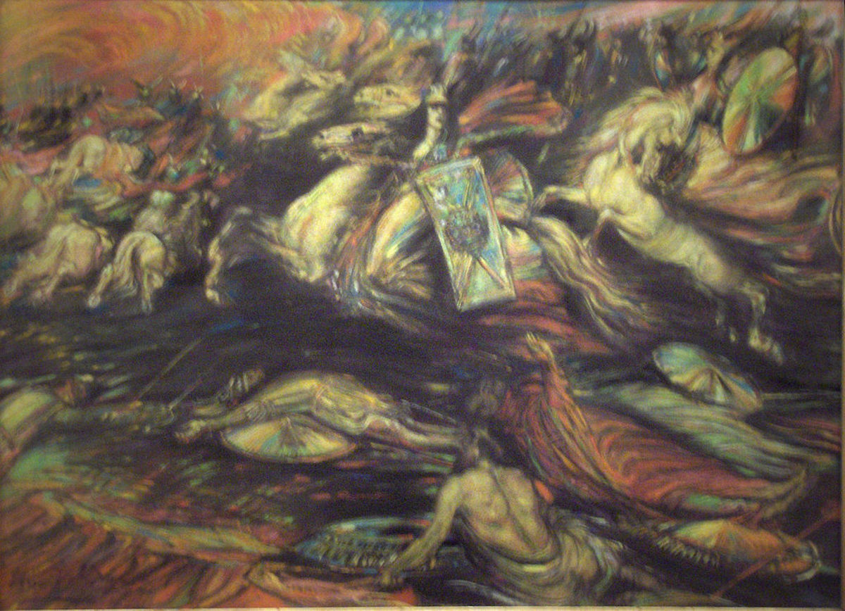 Ride of the Valkyries, c. 1890, by Henry De Groux