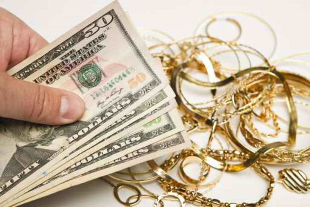 Cash for your gold jewelry