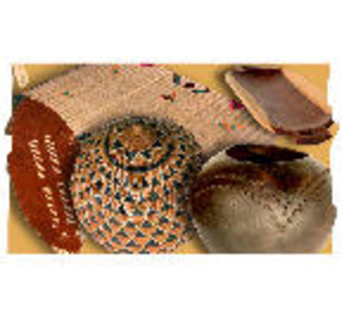 Zulu ceramics, arts and other crafts