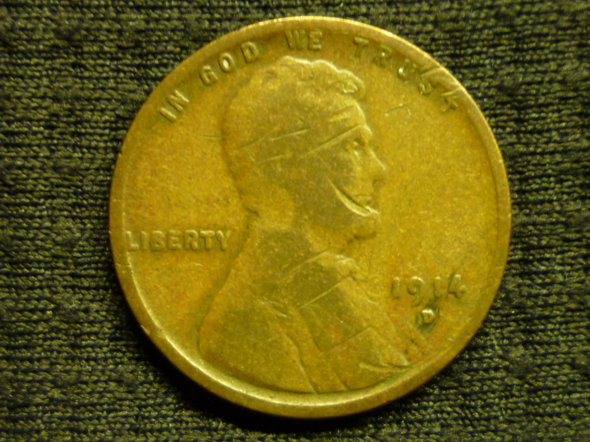 Value of Lincoln Pennies. Although this 1914D Lincoln Cent is in rough condition, its value is still around $100