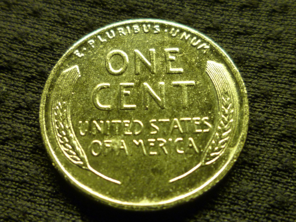 Lincoln Cents of in 1943 only were minted with Steel. Although they look cool, they are generally of low overall value.