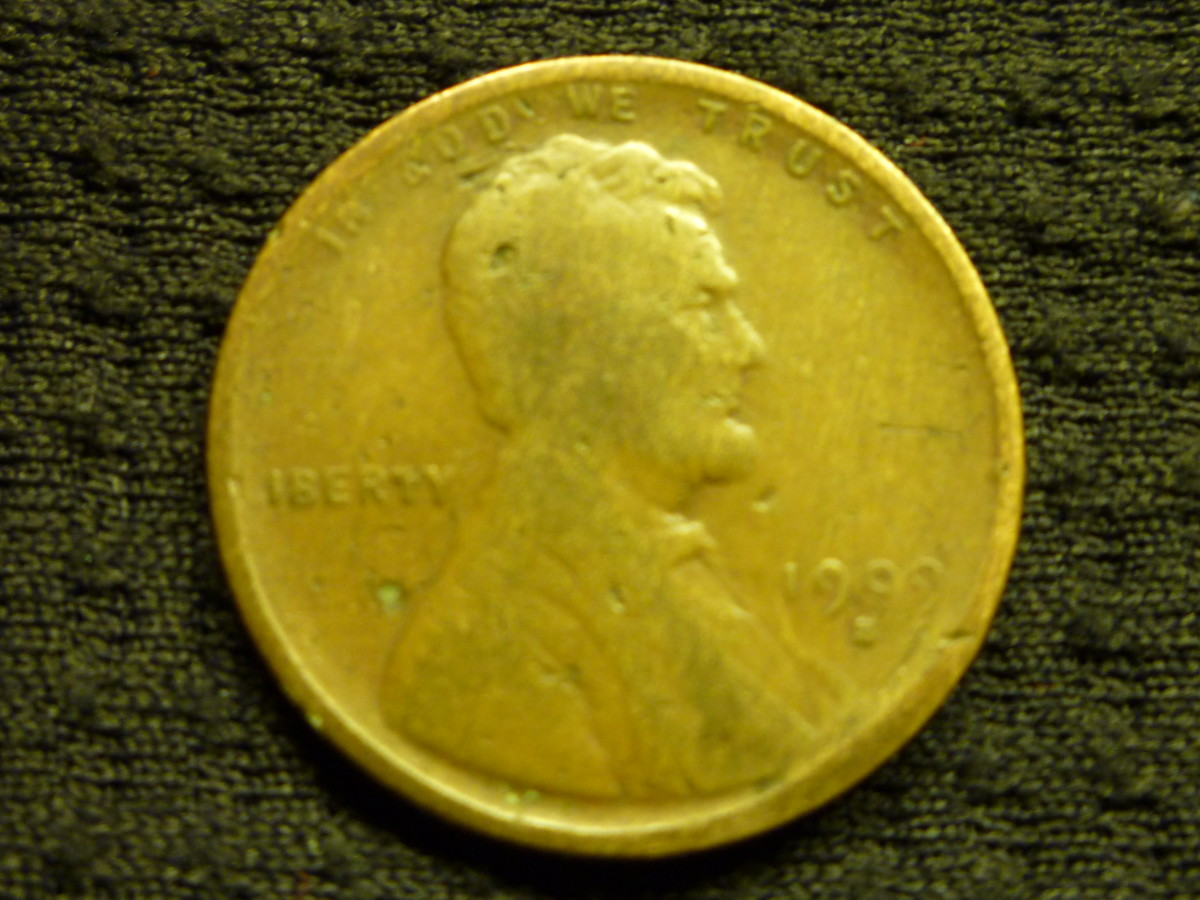 Even with an AG-G condition, this 1909S Key Date penny is valued around $60-70