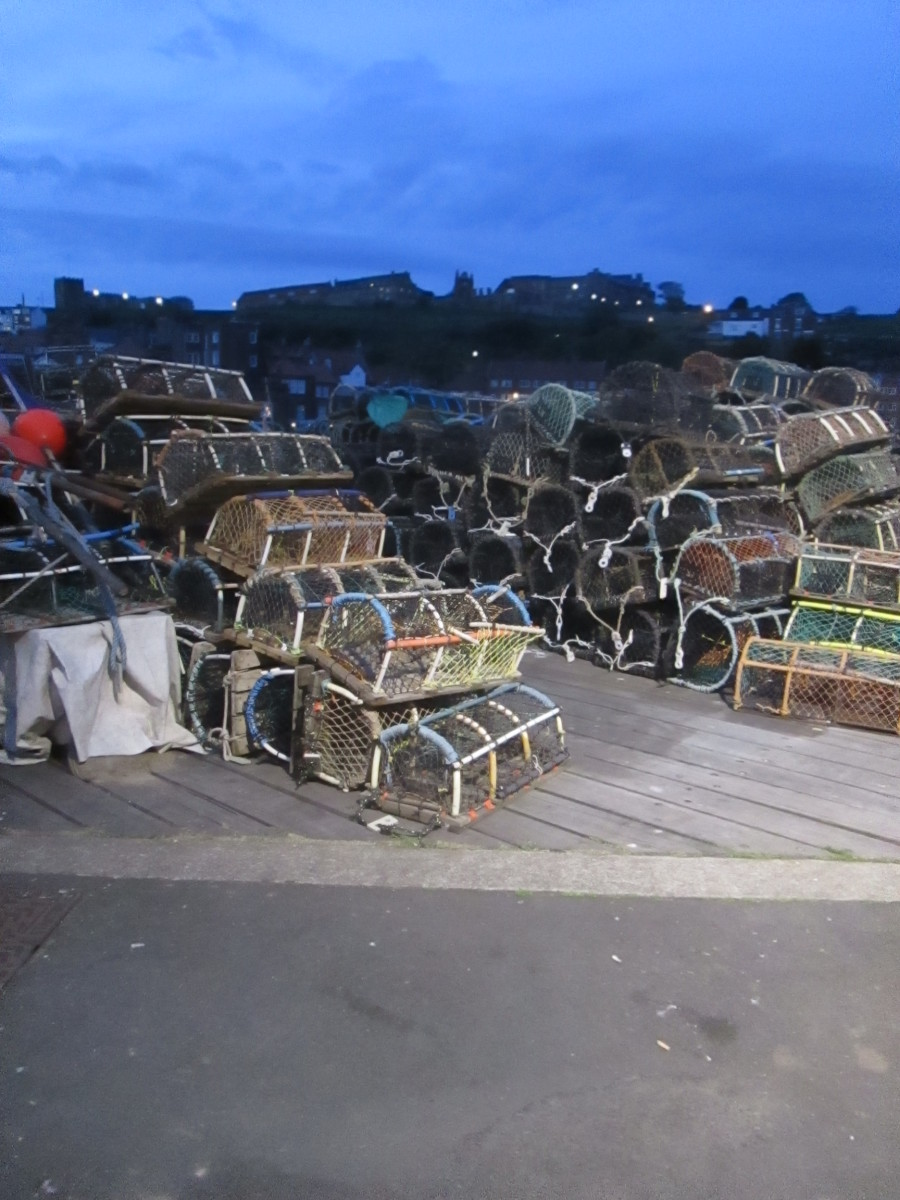 Lobster or crab? Guaranteed fresh from the quayside when the boat comes in early the following morning