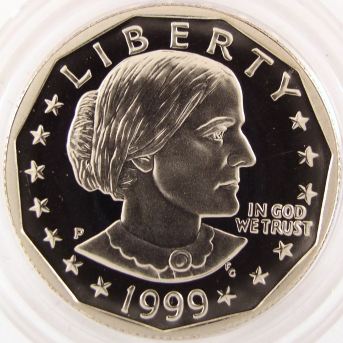 1999S Susan B Anthony Proof.
