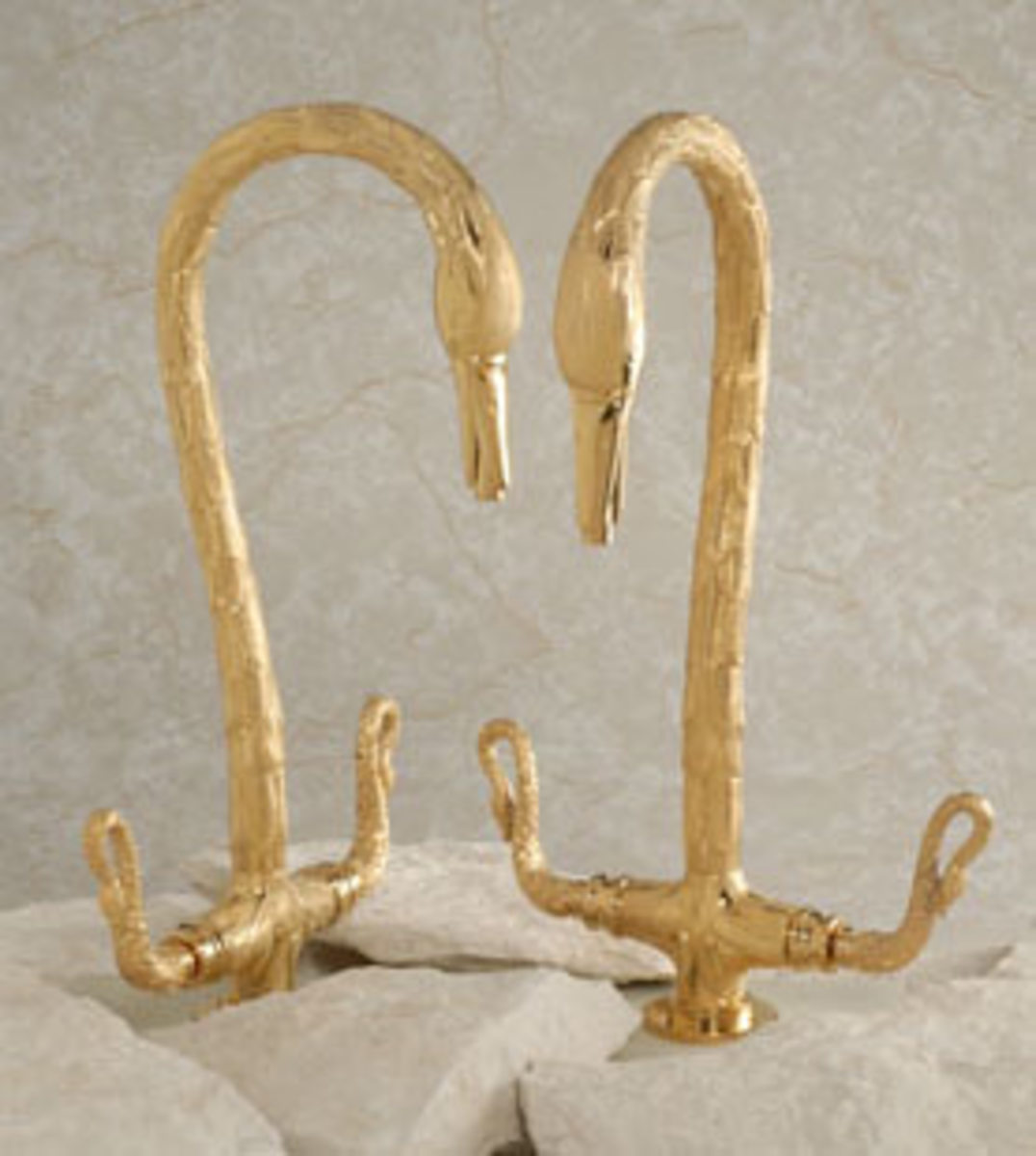swan like bathroom fixtures - jewelry for your bathroom