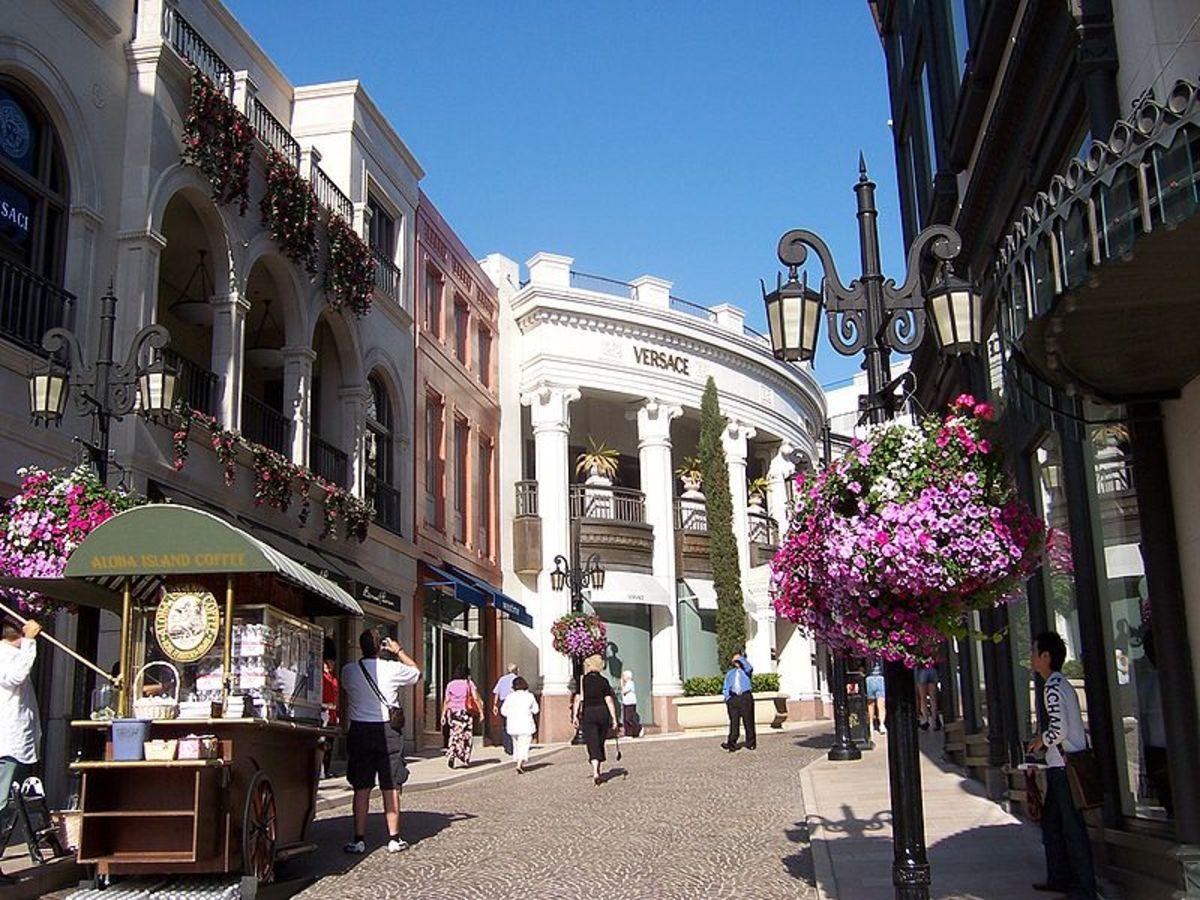 famous Rodeo Drive - Beverly Hills, CA