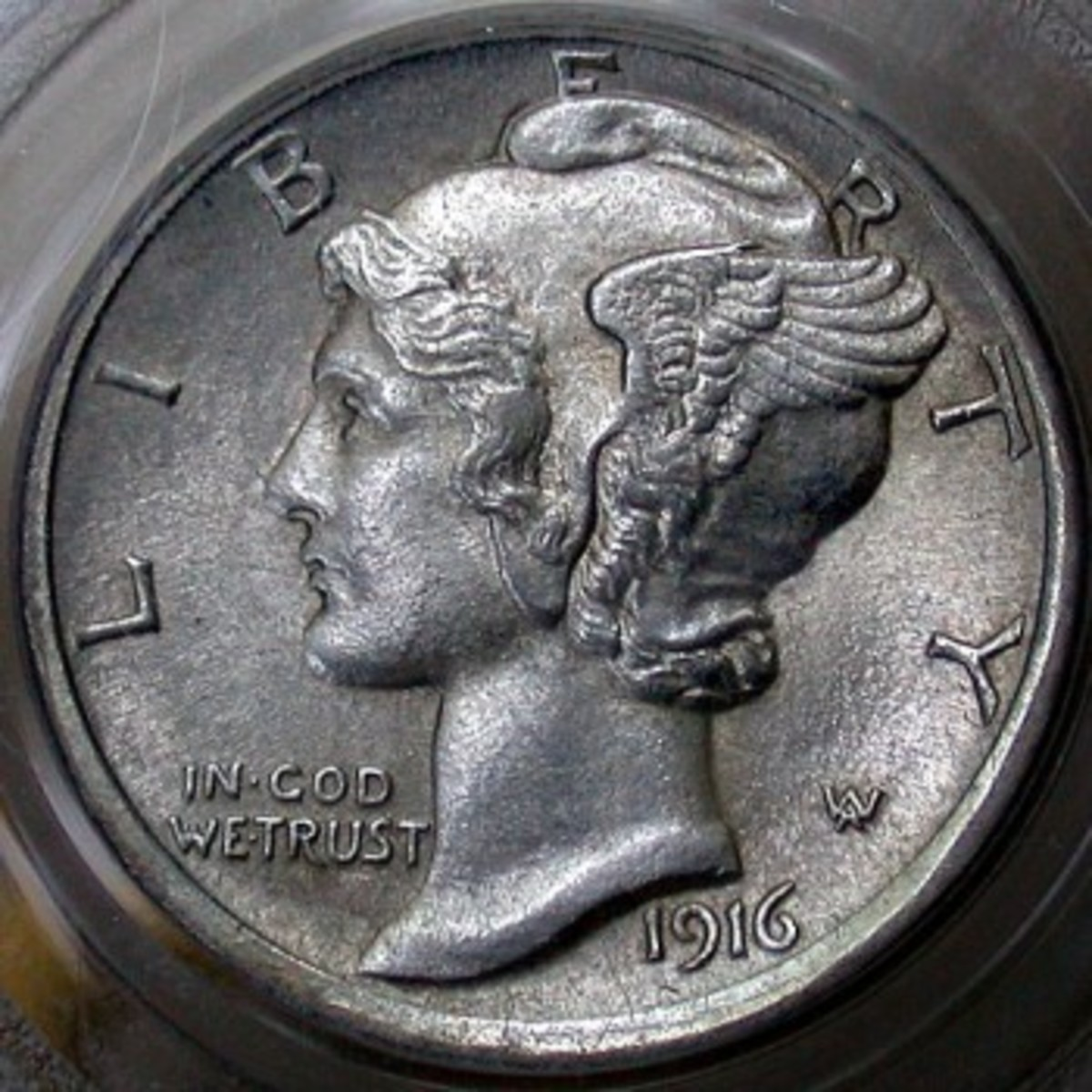 Rare 1916D Mercury Dime in near perfect condition. Photo Courtesy Coinpage.com