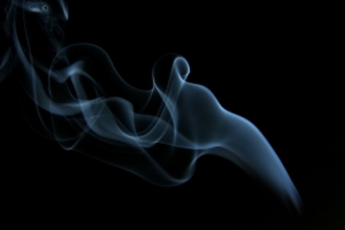 Aerogel has the appearance of frozen smoke.