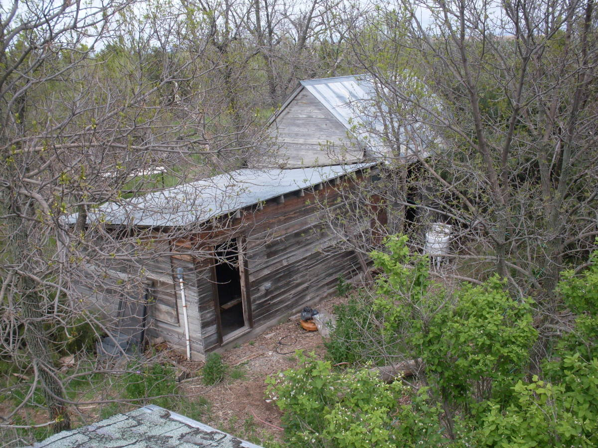 The original farmstead house, where the sink may have been used first.