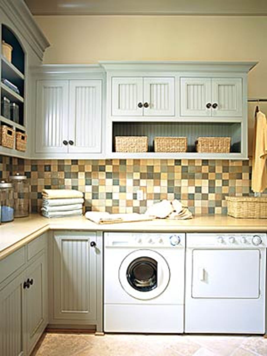 Beadboard Kitchen Cabinets - uniquely yet clasic aqua
