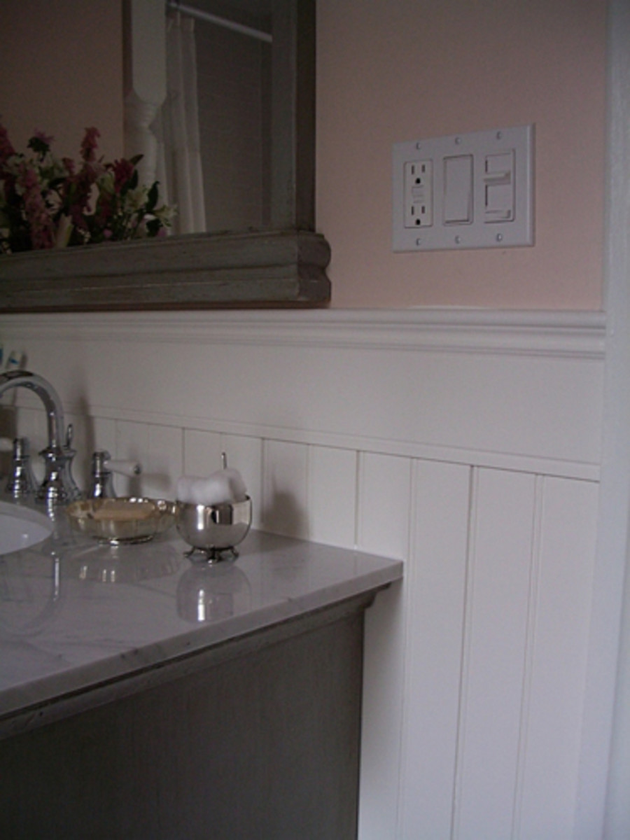 Home Improvements - Chair Rail Wainscot Molding