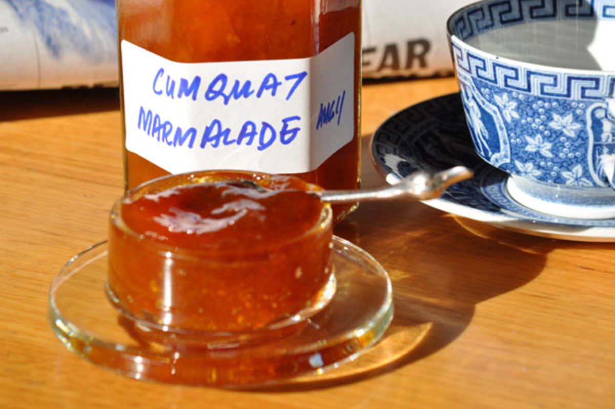Cumquat marmalade: a breath of sunshine with your breakfast toast! Image:  Siu Ling Hui