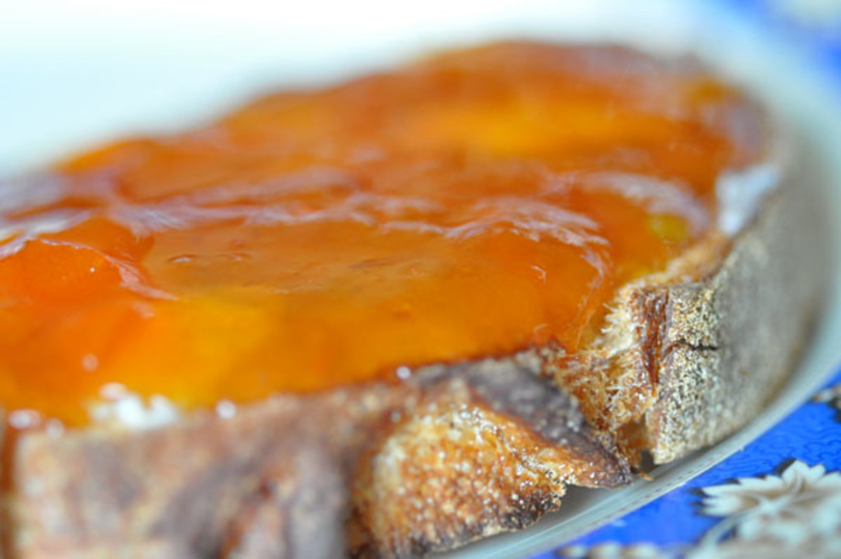 Cumquat Marmalade on Sourdough Toast. Image:  Siu Ling Hui