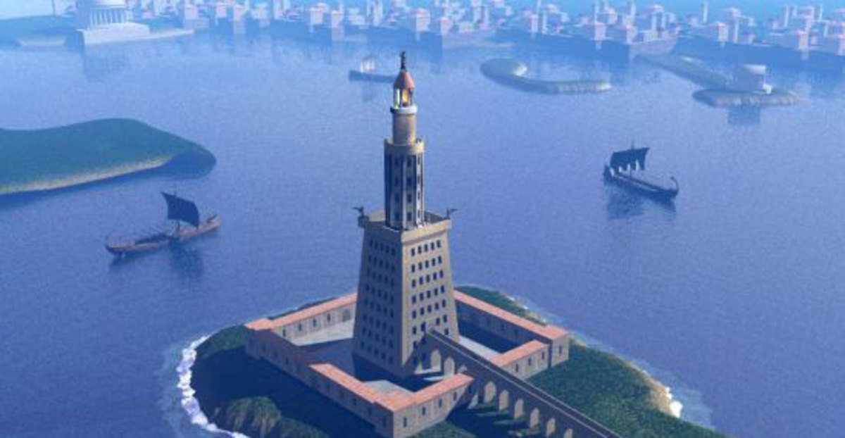 The Lighthouse at Alexandria Seven Ancient Wonders