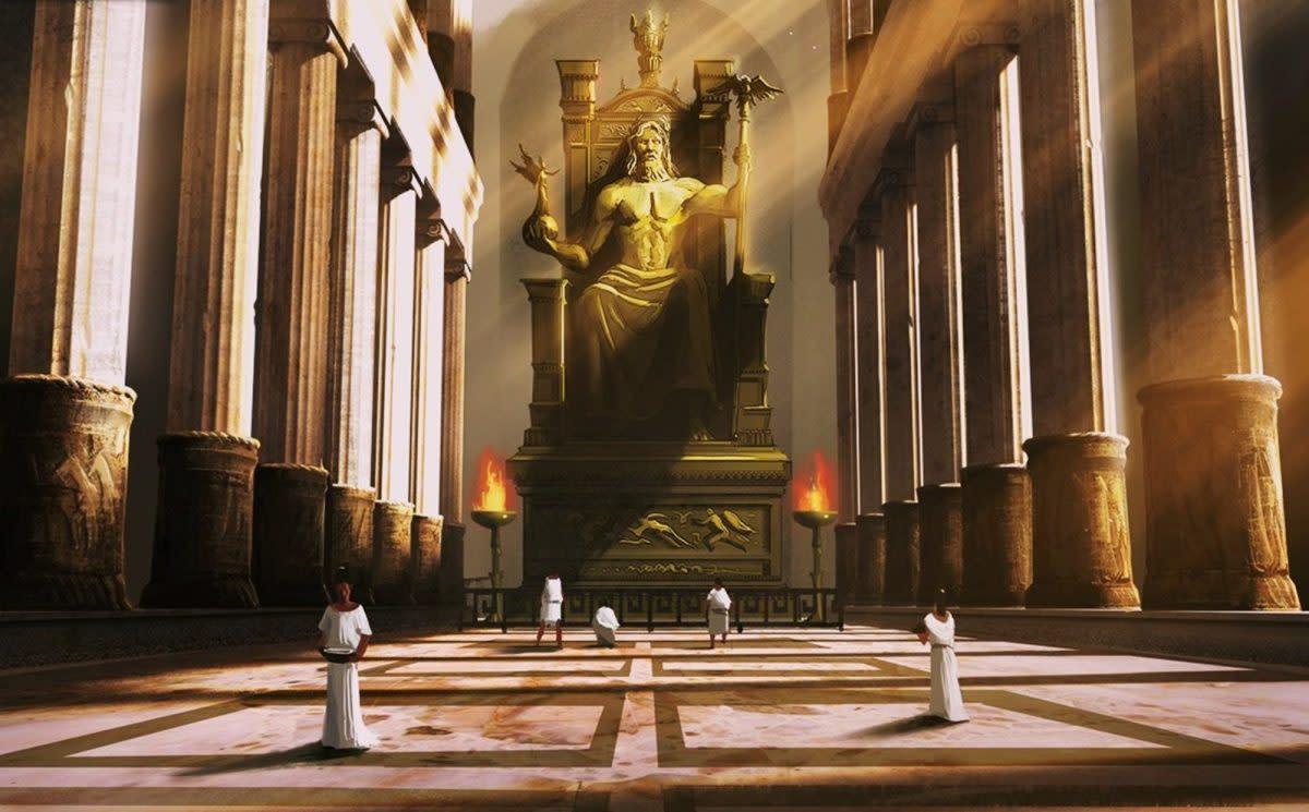 The Statue of Zeus Seven Ancient Wonders