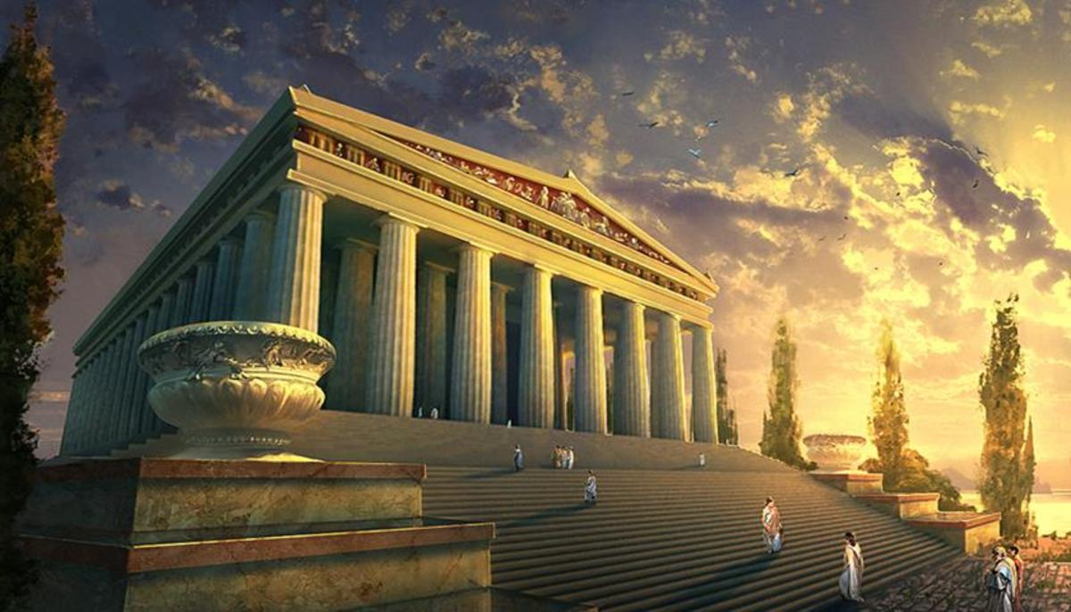 The Temple of Artemis Seven Ancient World Wonders