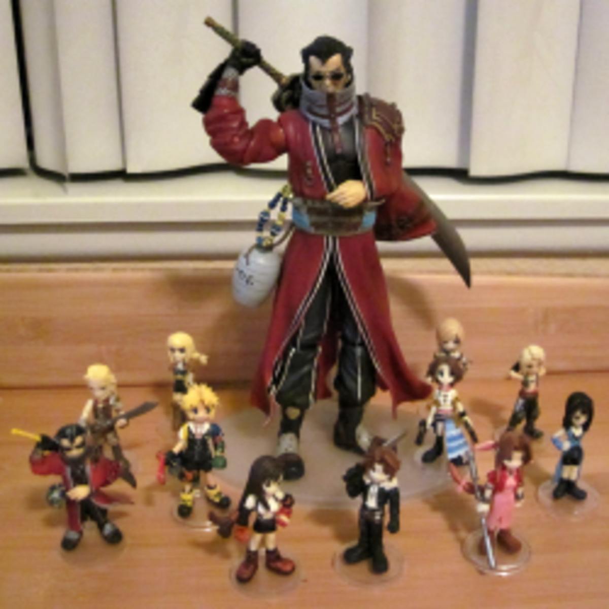 Final Fantasy Trading Arts Mini Figures: Watch Out for Counterfeits!