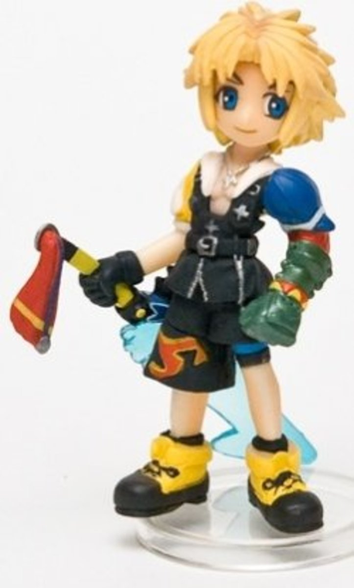 Final Fantasy Trading Arts Figure: Mini Tidus