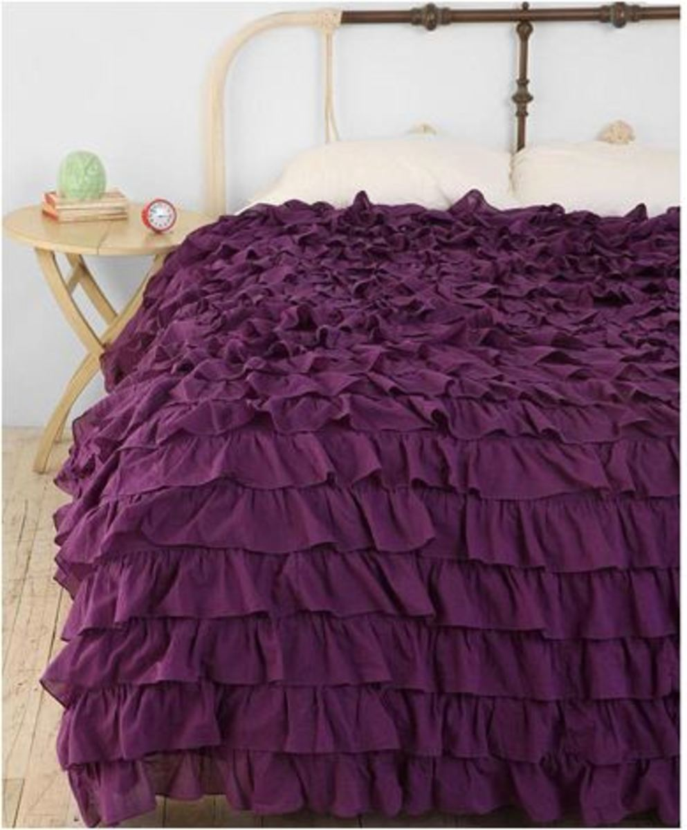 Duvet come in all looks. This one pretty for a teenagers room.